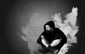 ritratto di un monaco guerriero